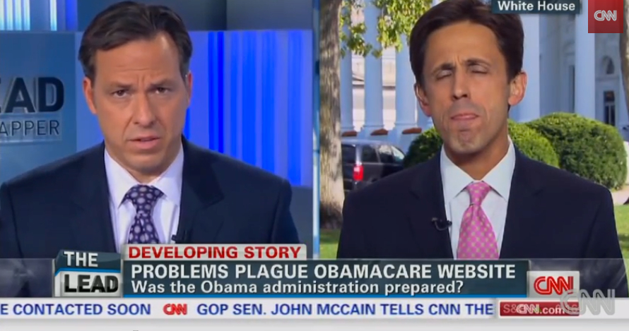 Obamacare website - interview CNN
