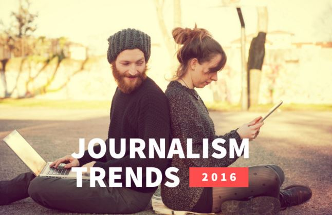 Journalistieke trends 2016