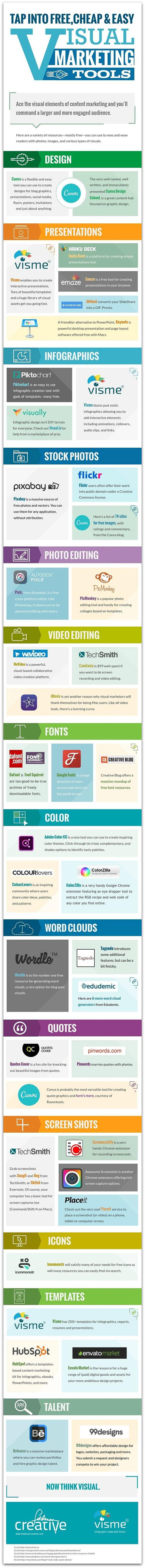 40 gratis tools voor je visuele marketing