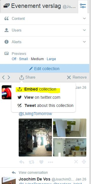 embed collection